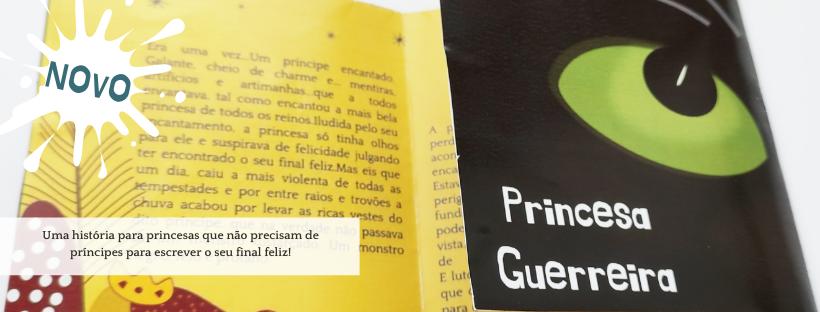Mini livro Princesa Guerreira